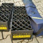 Milenco Quattro Auffahrkeile in schlechtem Zustand
