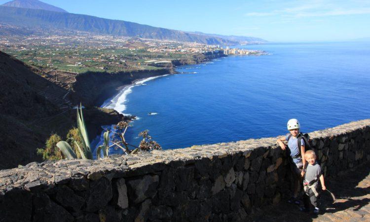 Zugang zum Klettergebiet Santa Ursula