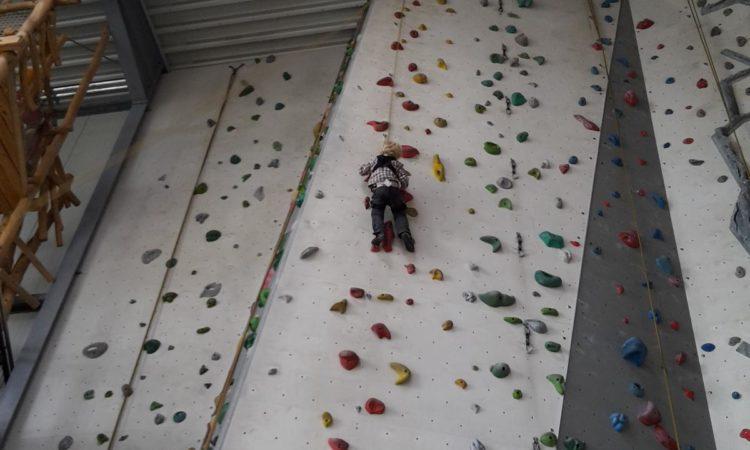 jeder kann Kletter-Anfänger werden.