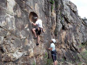 Klettern in San Bartolo