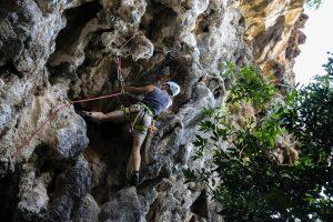 Klettern in Laos