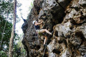 Klettern in neuen Routen