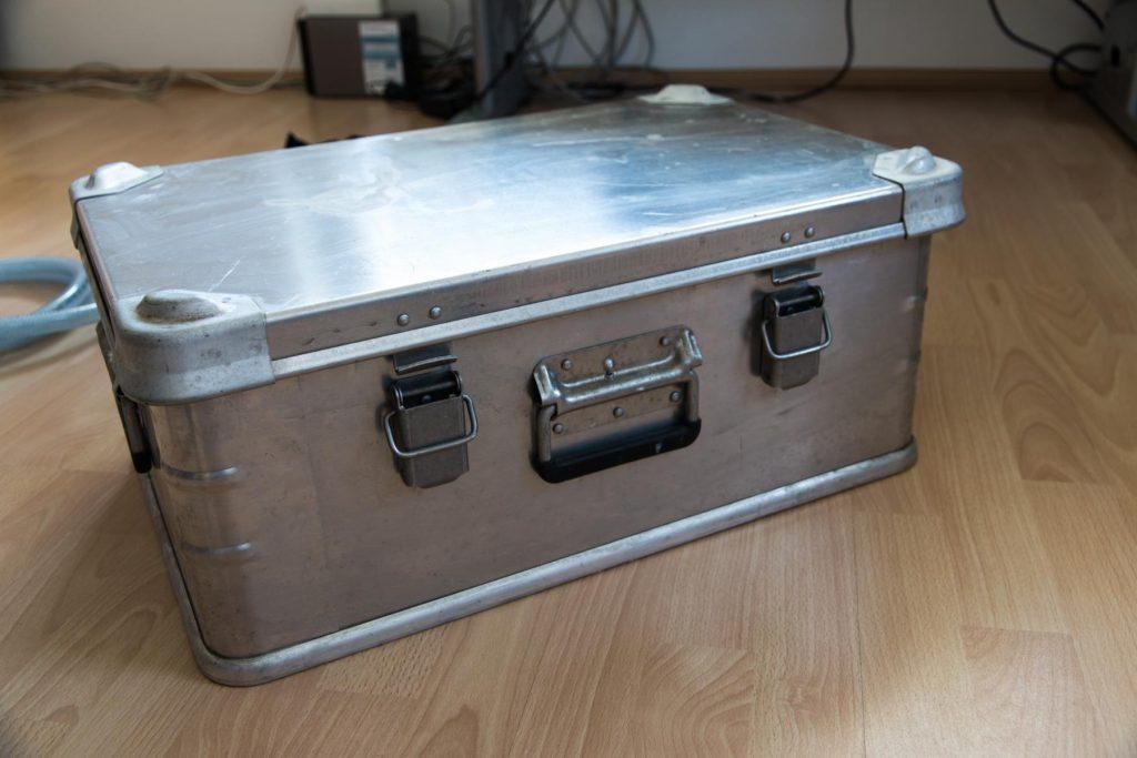 Kiste für den Filter