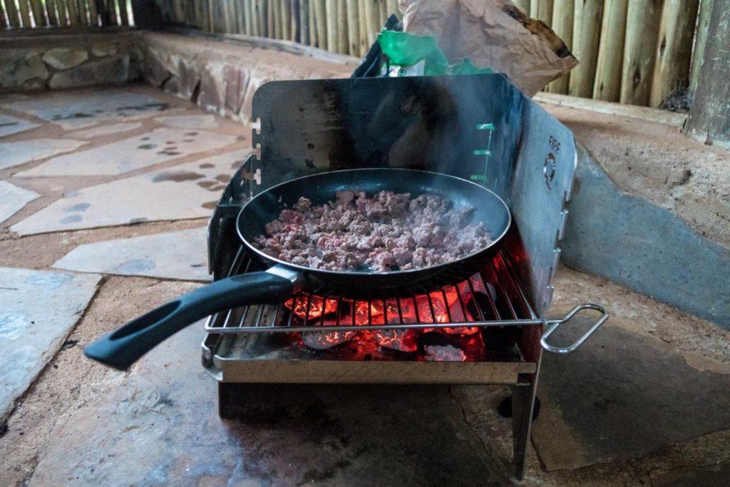 FireQ als Kochfeld