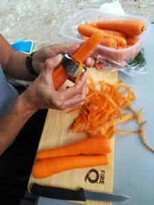 Sparschäler Messerset FireQ