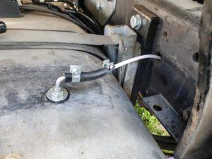 Standheizung Dieselleitung