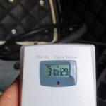 Temperatur im Fahrerhaus