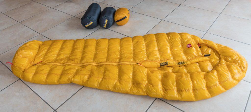 Bauschkraft beim Daunenschlafsack